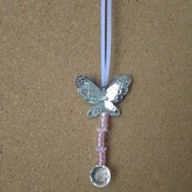 Lilac and pink sun catcher
