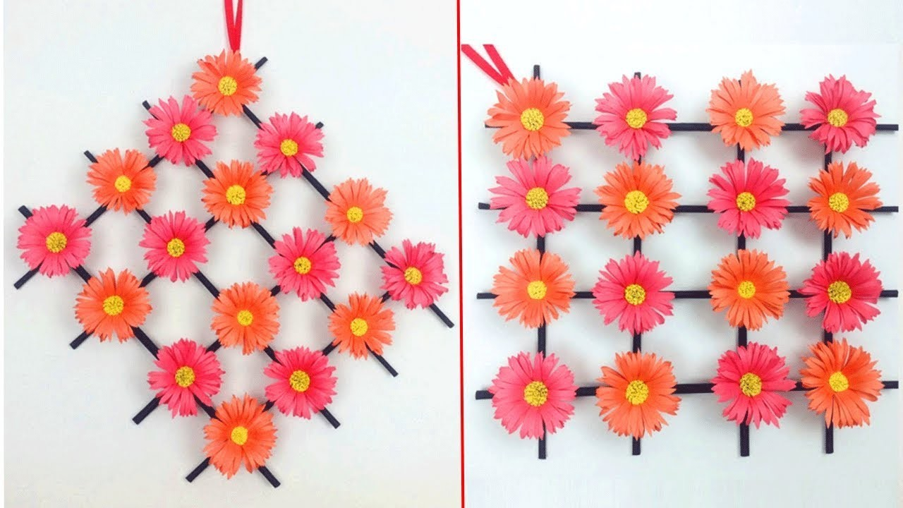 Paper Flower Making Step By Step Simple Flowers Healthy