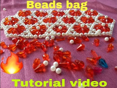 Part-1 .How to make beads bag made by Arpita creation.