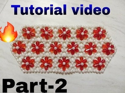 Part-2.  How to make beads bag made by Arpita creation