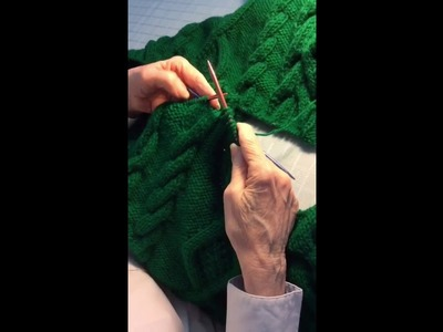 SeamlessStitch how-to video: three cables