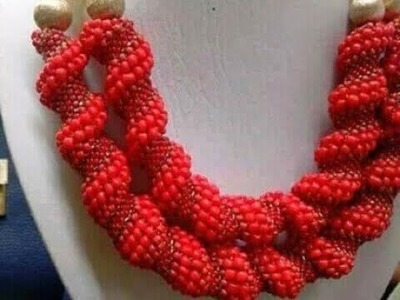 Tutorial on how to make this Celina stitches beaded jewelry