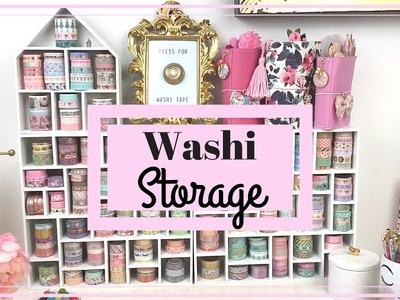 Washi Storage Ideas! How I created my Washi Wall + Washi Tape Collection