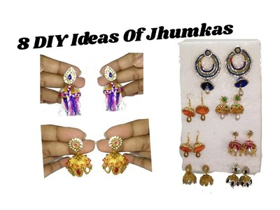 8 DIY Ideas Of Jhumkas