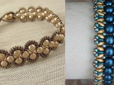 Beaded bracelet ideas.diy easy bracelet ideas for girls