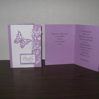 Birthday Card        TF201B