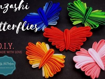 D.I.Y. Kanzashi Butterfly | MyInDulzens