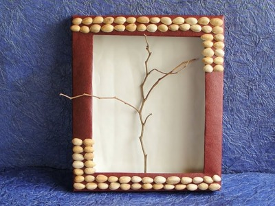 DIY Best out of Waste - Home Decor Modern Wall Art Frame