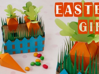 DIY -  boxes-bonbonniere for candies - Present for Easter