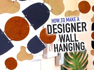 DIY Designer Wall Hanging You Can Make At Home! - HGTV Handmade