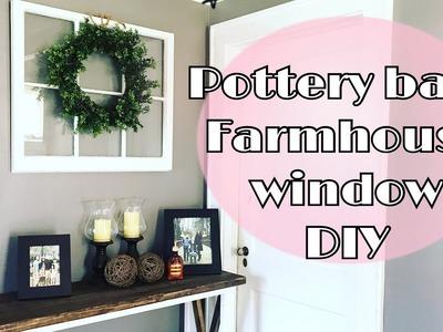 DIY Farmhouse Window.Happy Easter ????
