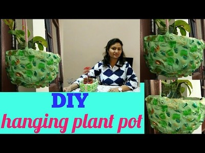 DIY ideas,do it yourself,hanging plant pot,anvesha,s creativity