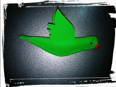 DIY. Parrot Made By Using Foam Sheet