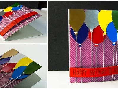 DIY Pop Up Card   Handmade Birthday Card Ideas