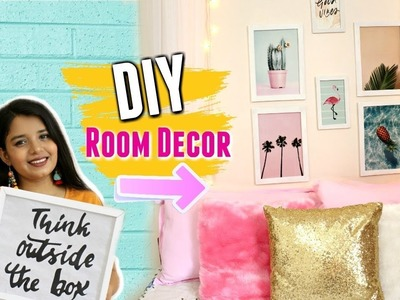 DIY ROOM DECOR IDEAS Under Rs 500 | Easy and Cheap Room Decorations