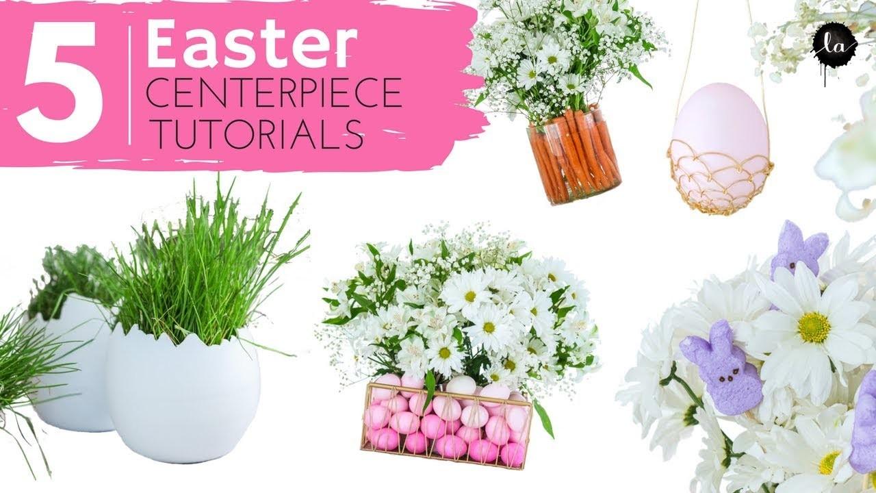 Easter Centerpieces DIY | Dollar Tree Easter DIY | Easter Tree | DIY Easter Egg Decorations