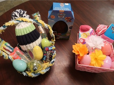 EASY DIY EASTER BASKETS | Living with a Child with a Disablity