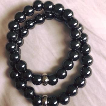 Hematite Therapy Stretchable Unisex Bracelets