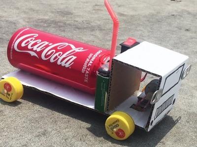 How to Make Mini CoCa Cola Car DIY at Home - Life Hacks