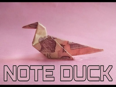 How to make Note Duck (Origami)