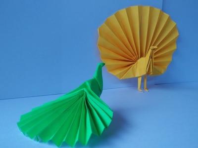 How To Make Origami Peacock Akira Yoshizawa