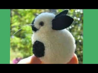 How to make pom pom rabbit | Diy Shivani