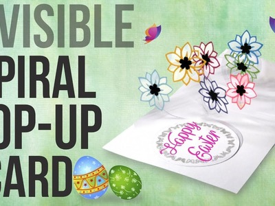 Invisible Spiral Card - EASY Pop Up Card DIY