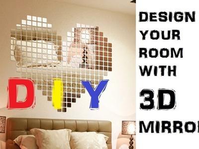 LAZADA UNBOX! DIY: 100 pieces Mirror to Design Your Room!