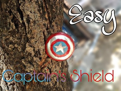 #Marvel Captain America's shield . DIY magnetic shield very easy.