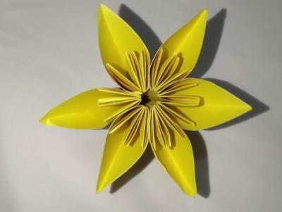 Origami Kasudama Flower | Easy origami Kusudama for beginners making | DIY-Paper Crafts