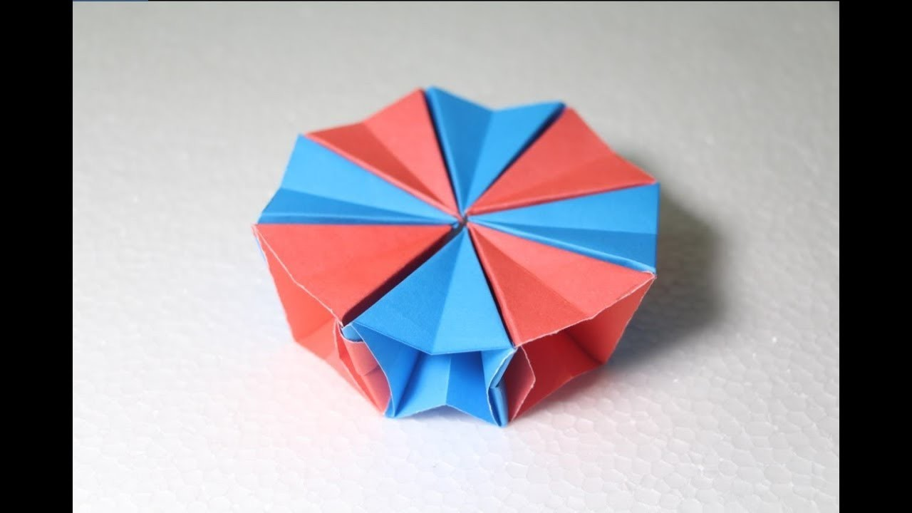 Origami Magic Circle Fireworks - Full Tutorial