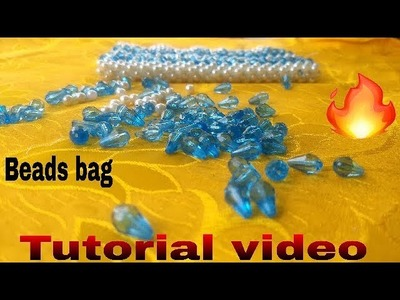 Part-1. How to make beads bag  made by Arpita creation.