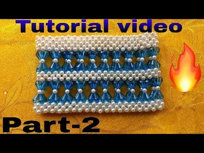 Part-2. How to make  pearl beads bag made by Arpita creation