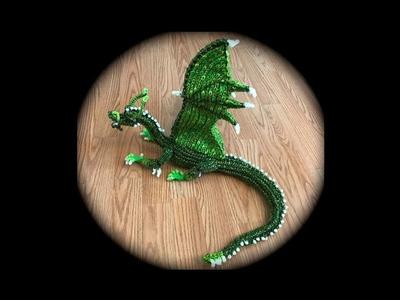 Part 9.10 Rainbow Loom Firnen from Eragon.Inheritance (2 Looms)