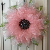 Pink/Coral wreath