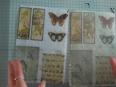 Teabag paper printing tutorial and alternative