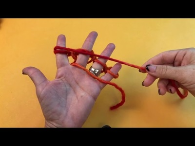 Ask Me Monday #82: How to Finger Knit Halloween Pumpkin Decorations