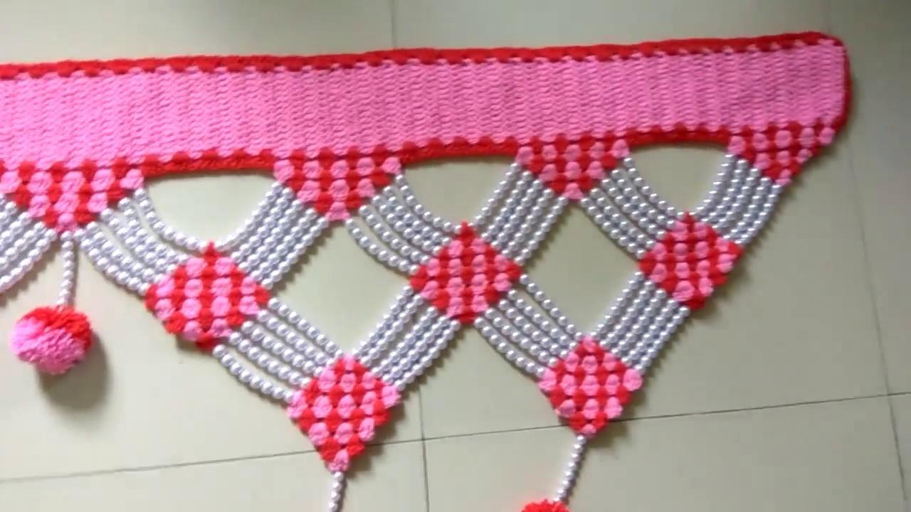Crochet Toran Moti Design 8