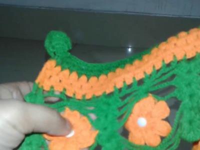 Crochet Troran design pattan -  5 part -1  how to make       !Omi khatoon!