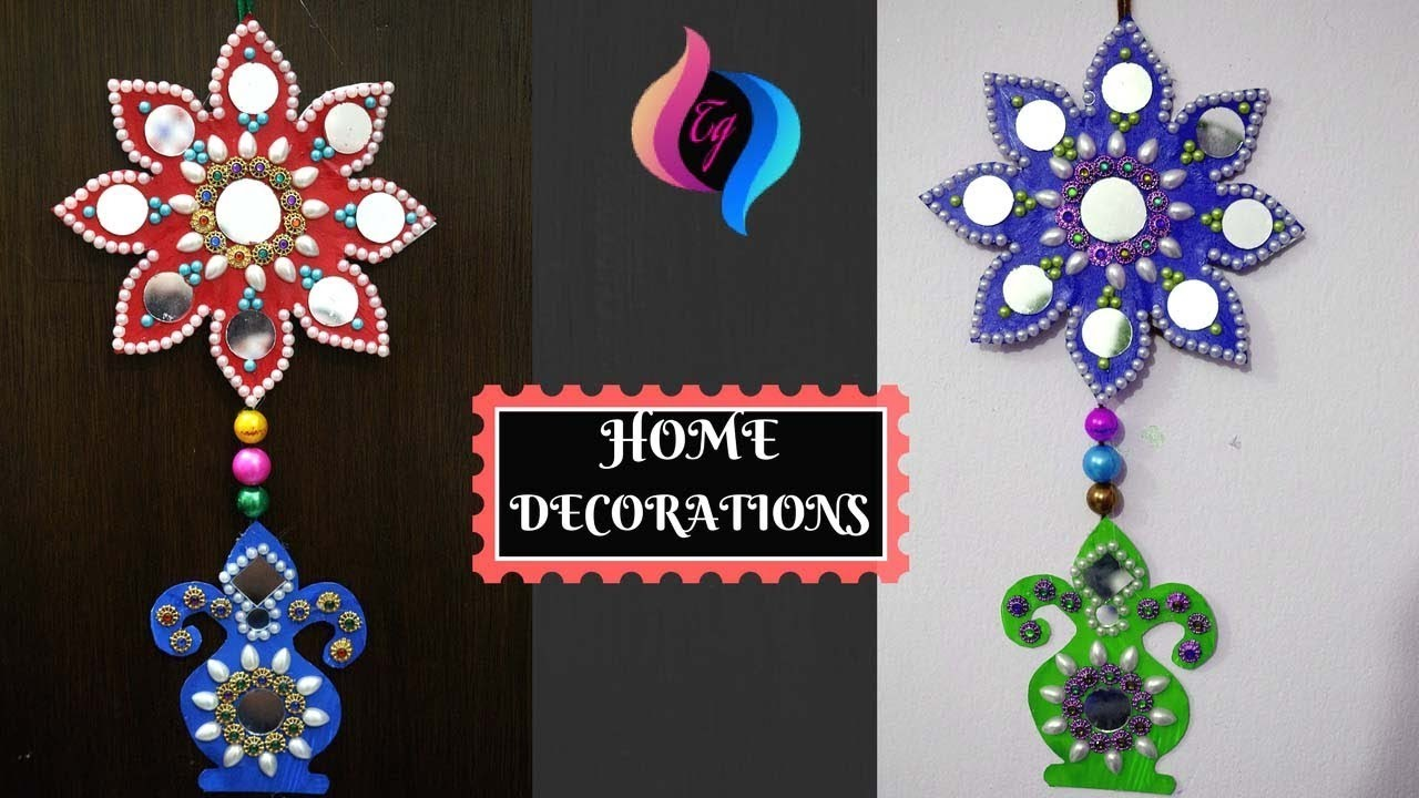 Diy Home Decorations Ideas How To Make Wall Decoration