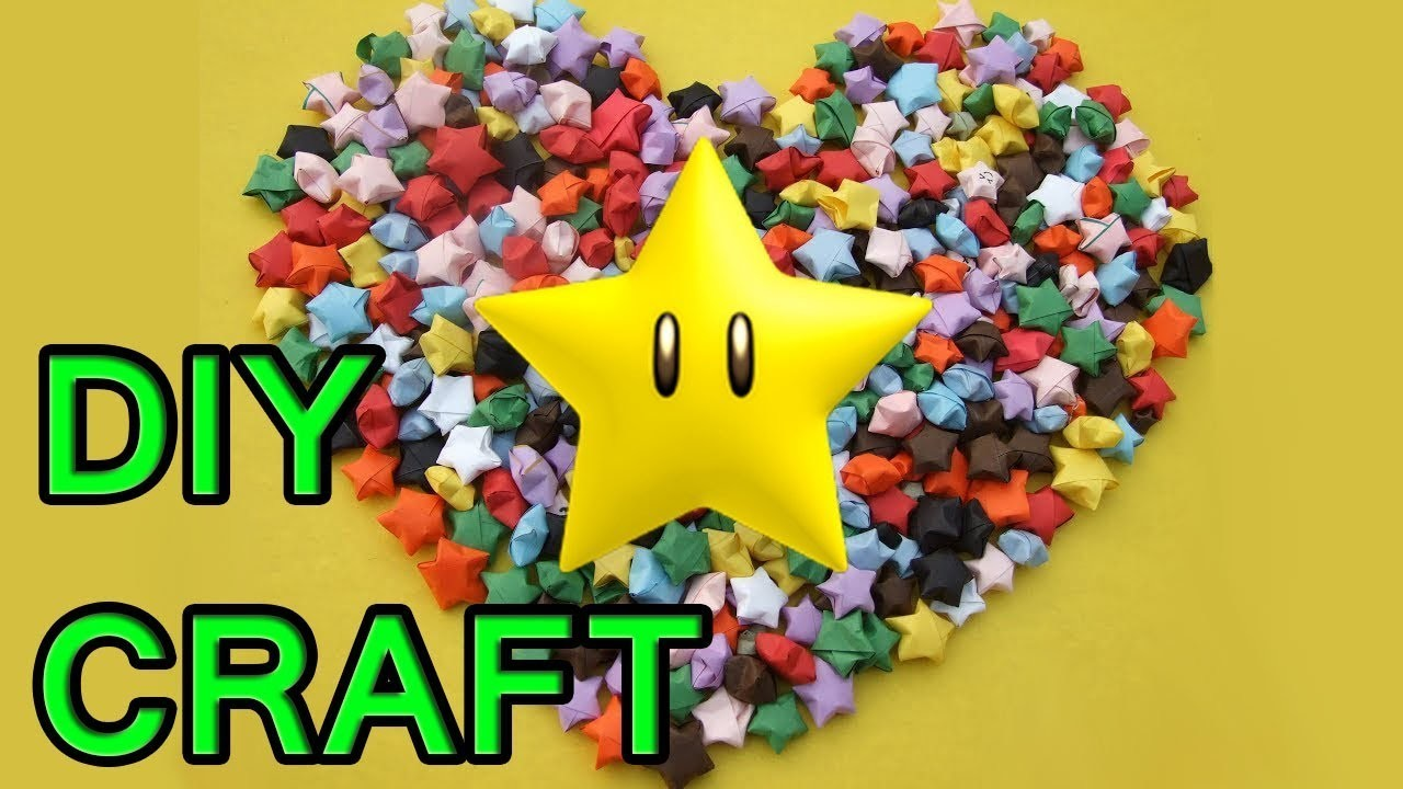 DIY How  to make Puffed stars easily Queen of DIY crafts paper crafts