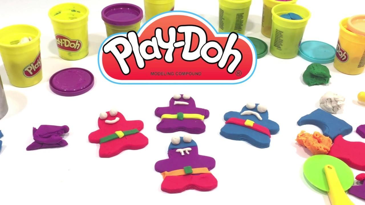 Gingerbread How Videos Children Make Doh Playdough Play Craft Cookie Tc3luK1JF