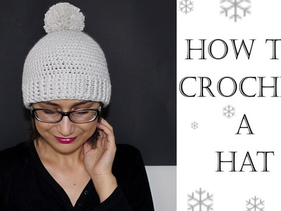 How To Crochet for Beginners | Hat or Beanie