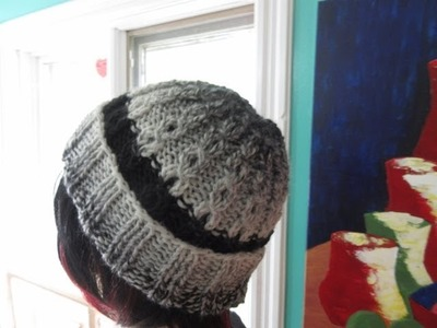 How to knit  hat for adult