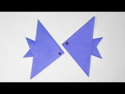 How to Make a Cute Fish (2). aquarium fish.  _DIY Paper Craft Ideas #55