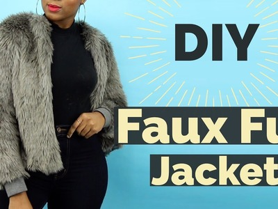 How to make a Faux Fur Winter Jacket ||SewAddicts