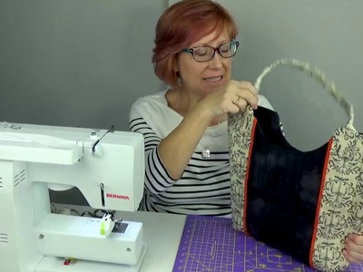 HOW TO MAKE A PANEL TOTE (Part 2)