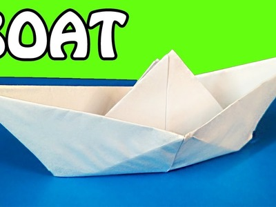 How to Make a Paper Boat | Origami Tutorial