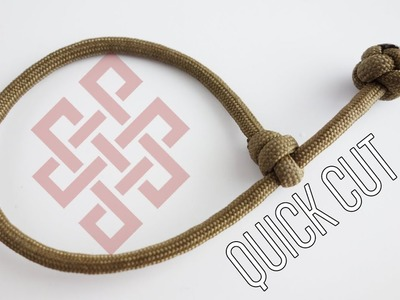 How to Make a Single Strand Mad Max Paracord Bracelet Tutorial (No Commentary)