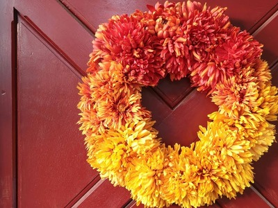 How To Make An Easy Fall Wreath